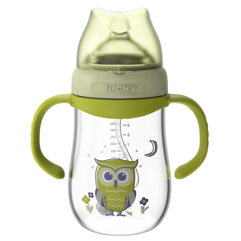 宽口径玻璃奶瓶300ML