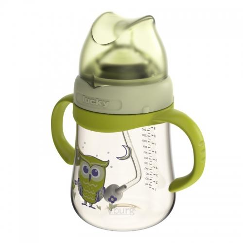 宽口径PPSU奶瓶300ML