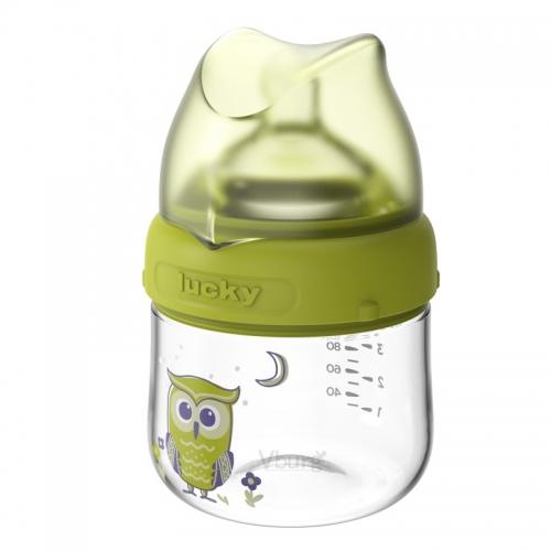 宽口径玻璃奶瓶120ML