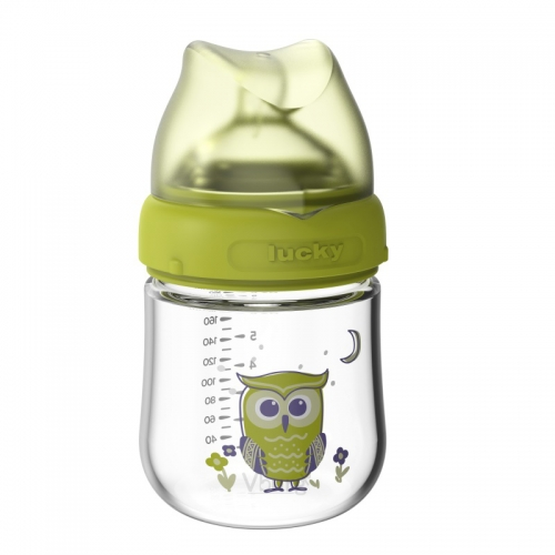 宽口径玻璃奶瓶180ML