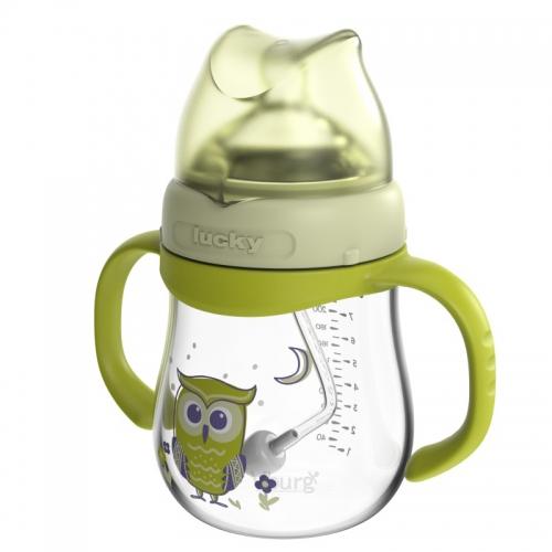 宽口径玻璃奶瓶240ML
